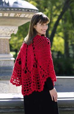 Crochet Doily Shawl