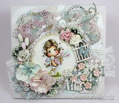 DeeDee´s Card Art: ♥ Live & Love Crafts DT - Something New ♥