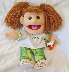 SUNNY PUPPETS Brown Haired Girl COOL Prayer GL1701 Full Body 16""