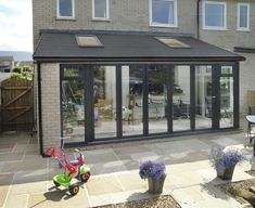 For lean-to conservatories in Barrow, Ulverston or Cumbria call Wardgroup on 01229 Buy a budget conservatory with customer service guaranteed. Orangerie Extension, Extension Veranda, Conservatory Extension, House Extension Plans, House Extension Design, Glass Extension, Extension Designs, Roof Extension, Extension Ideas
