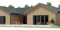 House Plan CH339 Cottage Floor Plans, Pole Barn House Plans, House Floor Plans, Simple House Plans, New House Plans, Dream House Plans, Best Home Plans, Espace Design, Casas Containers