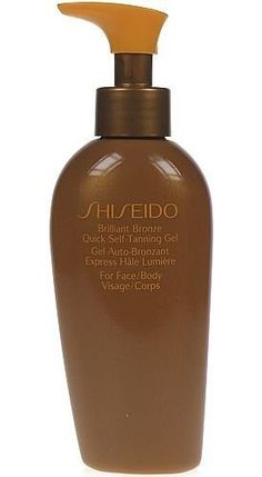 Shiseido Brilliant Bronze Quick Self Tanning Gel (for Face and Body) Gel for Unisex, 4.2 Ounce by Shiseido. $30.00. Shiseido Men Hydrating Lotion 5fl.oz./150ml. Buy Shiseido Self-Tanners - Shiseido Brilliant Bronze Quick Self-Tanning Gel 150ml/5oz
