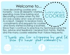 Lorraine's Cookies — Decorated Sugar Cookies for All Occasions