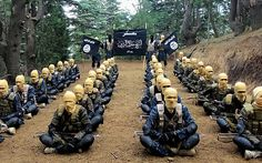 Isil fighters at a training camp in Afghanistan -- Up to 5,000 Isil-trained jihadists could be at large in Europe   via @Telegraph http://www.telegraph.co.uk/news/worldnews/europe/12165093/Up-to-5000-Isil-trained-jihadists-could-be-at-large-in-Europe.html