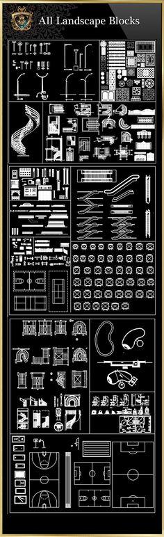 Landscape Blocks CAD Blocks Collection – CAD Design | Free CAD Blocks,Drawings,Details