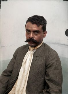 Emiliano Zapata Salazar was a leading figure in the Mexican Revolution, which broke out in and which was initially directed against the president Porfirio Díaz. Mexican Heroes, Mexican Art, Mexican Style, Pancho Villa, Mexican Revolution, Mexican Heritage, Mexican American, Native American, Le Far West