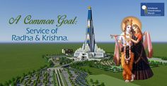 We all are the servants of Lord Krishna, the Supreme Absolute Truth, and we are working for a common cause, to create an epitome of transcendental beauty, the tallest temple in the world. Request you to all join in the movement and contribute.