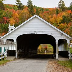 America's Most Beautiful Covered Bridges - Articles | Travel + Leisure