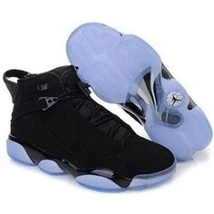 online store 543e2 9a7b9 Nike Air Jordan 6 Rings Black blue mid All Jordans, Original Air Jordans,