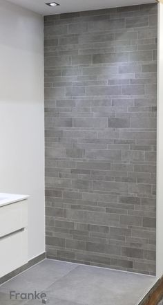 Wandfliese Betonoptik Waschtisch Bathroom Pinterest Bath - Fliesen schieferoptik erfahrungen