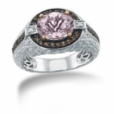 Matisse, Sterling Silver, Pink Amethyst Gemstone Ring