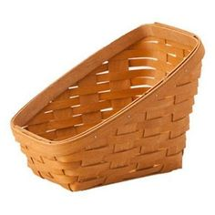 NEW Longaberger Small Vegetable Basket with Riser. Perfect for serving rolls, bread and snacks. Ideal for hold towels or skin products in the bath. Add the optional WoodCrafts Riser to raise fruits an