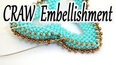 CRAW decoration - How to create a Cubic RAW embellishment all around a C...