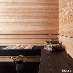 """Cello on Instagram: """"Viikonloppuna saunaan?  Cellolta K-Raudasta löydät erilaisia saunapaneeleita, laude-elementtejä ja saunatarvikkeita täydelliseen…"""" Instagram"""