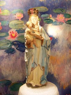 Our Lady Virgin Mary statue.  Hi Everyone, I'm selling this lovely French beauty. item number  151271254147 Antique French RARE Our Lady Virgin Mary statue plaster shabby Chic lovely RARE. hope you like her on ebay world wide. happy pinning