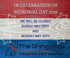 Reminder we are closed tomorrow and Monday. Stop in today for all your holiday weekend goodies.