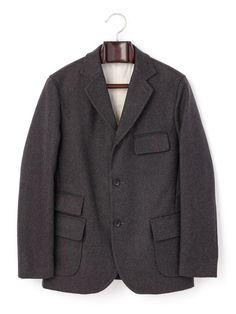 今週のピックアップ STYLE WORKS メルトン ラインデザインカントリージャケットの商品詳細。半世紀以上に渡り積み重ねられた経験と受け継がれた技術を大切にしている「STYLE WORKS」。日本発ブランドならではの、細部までこだわりが息づいた縫製により最高の着心地を実現。本物を知る大人にふさわしい高クオリティのアイテムが揃います。