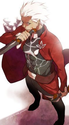 Archer Emiya - Fate/Stay Night - Unlimited Blade Works - Heaven's Feel - Fate/Extra - Fate/Extra CCC http://amzn.to/2kU7l48