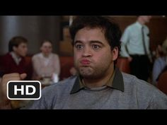 Animal House Movie Clip - watch all clips http://j.mp/yKTdpB  click to subscribe http://j.mp/sNDUs5    Bluto (John Belushi) spits mashed potatoes on the Omegas, inciting a food fight.    TM & © Universal (2012)  Cast: James Daughton, Mark Metcalf, Martha Smith, Mary Louise Weller, Tim Matheson, John Belushi  Director: John Landis  MOVIECLIPS YouTube Cha...