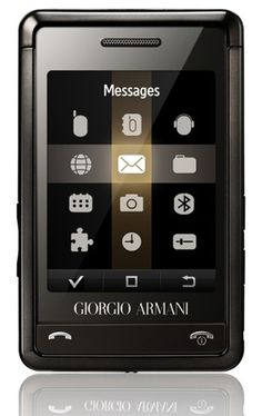 7d90261aa528 Giorgio Armani Samsung luxury mobile phone