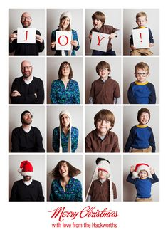 Christmas Portrait idea. Justin Hackworth Photography  Other ideas: A photo every season/3 months.  Shows kids grow through out the year.