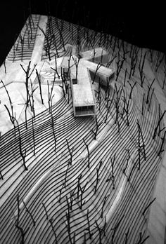 Gallery of Viewing Pavilion on Hill / TAO - Trace Architecture Office - 35