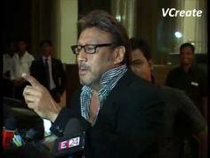 Jackie Shroff at Bappi Lahiri's son Bappa Lahiri's wedding reception.
