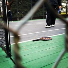 I'm hooked ! November 25: Paddle Tennis which is played in the winter outdoors in Chicago!