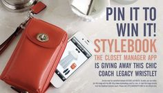 Pinterest Contest - Stylebook - a closet manager & fashion assistant app for the iPhone and iPod Touch