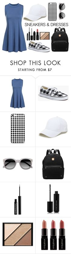 """""""Sneakers & Dresses"""" by rachellynn-couture ❤ liked on Polyvore featuring Madewell, Sole Society, NYX, Marc Jacobs, Elizabeth Arden and Smashbox"""