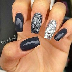 Best Winter Nails for 2018 - 45 Cute Winter Nail Designs - B.- Best Winter Nails for 2018 – 45 Cute Winter Nail Designs – Best Nail Art Best Winter Nails for 2018 – 45 Cute Winter Nail Designs – Best Nail Art - Winter Nail Designs, Winter Nail Art, Cool Nail Designs, Acrylic Nail Designs, Acrylic Nails, Gel Nail, Winter Nails 2019, Autumn Nails, Acrylics