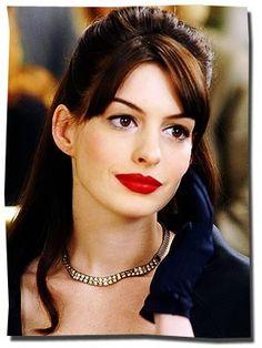 devil wears prada red lipstick