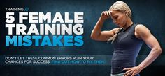 Bodybuilding.com - Beginner's Training Guide: 5 Fitness Mistakes Women Make