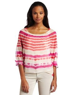 Gypsy 05 Women's Dolman Sleeve Top, Fuschia/Pink, X-Small Gypsy 05. $132.00. Woven, tie-dye. 3/4 sleeve, top. Dry Clean Only. 100% Silk. Made in USA