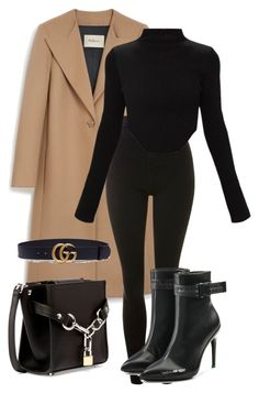 Featuring Mulberry, Topshop, Gucci, Off-White and Alexander Wang Winter Fashion Outfits, Look Fashion, Autumn Winter Fashion, Winter Outfits, Womens Fashion, Fashion Trends, 2000s Fashion, Fashion Tips, Fashion 2020