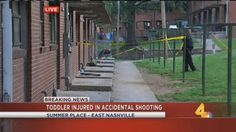 Father charged after toddler injured in accidental shooting in East Nashville