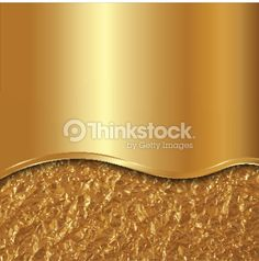 Vector abstract gold background with curve and foil : Arte vetorial