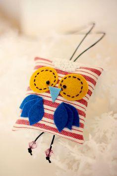 Owl pendant, via Etsy.