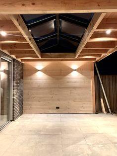 Backyard Patio Designs, Modern Backyard, Covered Patio Design, Roof Lantern, Garage Remodel, Pool Houses, Utrecht, Outdoor Projects, Exterior Design