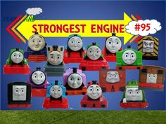The World's STRONGEST ENGINE Trains #95 - Thomas and Friends for Children