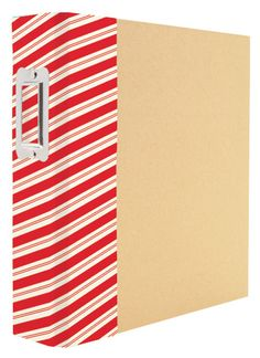 Simple+Stories+-+SNAP+Collection+-+Christmas+-+Binder+-+Striped+Holiday+at+Scrapbook.com