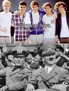 One Direction Hitler Meme | Slapcaption.com