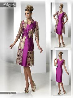 VENTAJA (Vestido de Fiesta). Diseñador: Raffaello. ...