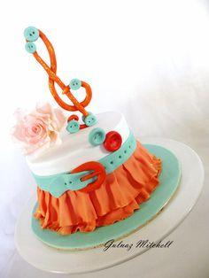 Skirt cake - Cake by Gulnaz Mitchell