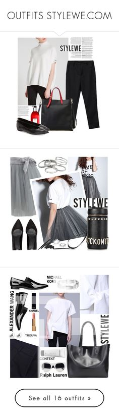 """""""OUTFITS STYLEWE.COM"""" by by-jwp ❤ liked on Polyvore featuring MICHAEL Michael Kors, Chicwish, Kendra Scott, Max Factor, Maria Francesca Pepe, StreetStyle, fashionset, StreetChic, streetoutfit and Alexander Wang"""