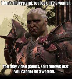 Dear Sten: A gamer, as well as a warrior, can also be a girl. Love, Every Girl Gamer.