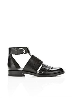 LYOKA ANKLE STRAP OXFORD - Women Flats - Alexander Wang Official Site