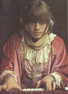 Rolling Stones' - Brian Jones - Olympic Sound Studios - 1967 - by Gered Mankowitz