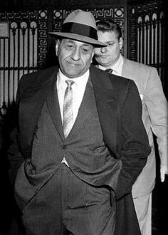 Tony Accardo...(Joe Batters) head of the Chicago Mob from the 1940's til the day he died in 1992 without ever serving a day in jail. Also said to be the most feared and respected Boss to run the Chicago Mob. Was said to be one of the gunmen in the St. Valentines Day Massacre
