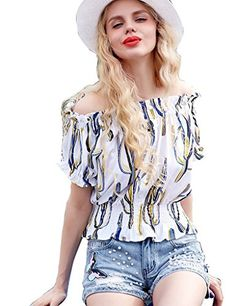 Summer Ethnic Print Chiffon Tunic Tops